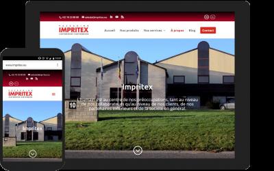 Impritex fait peau neuve avec un nouveau site internet mobile-friendly !