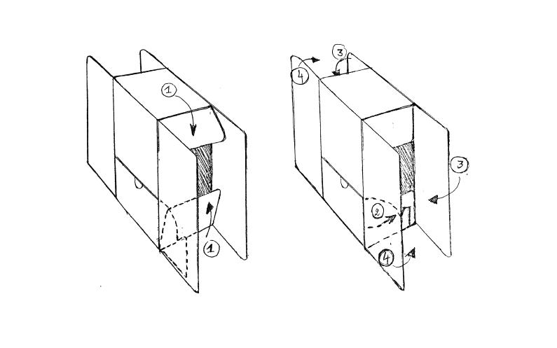 De vervaardiging van kartonnen packaging volgens de producent